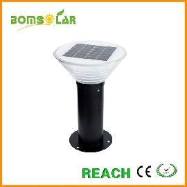 solar pillar light