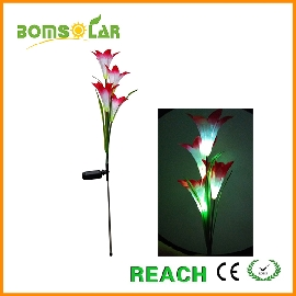Solar flower light solar lily