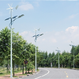 Wind PV hybrid street light