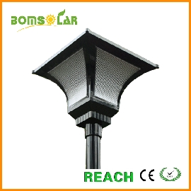 solar post integrated street light 10w