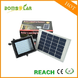 60LED solar flood light