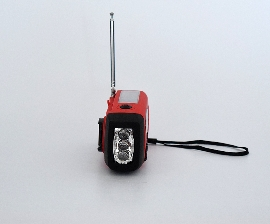 dynamo radio flash light