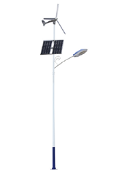 Wind-PV hybrid street light